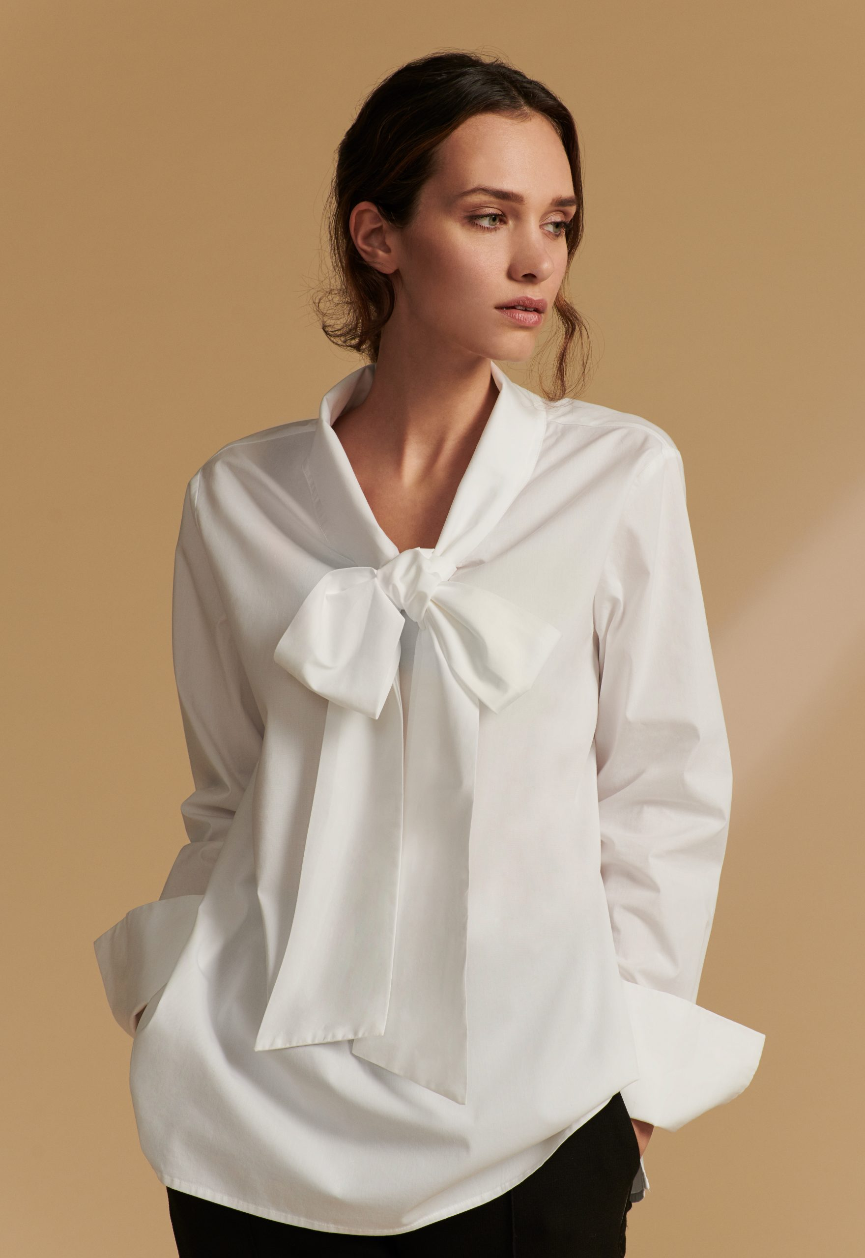 Silk Sisters Dagi Cotton White